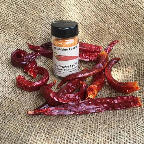 Hot Pepper Dust - 2 oz.