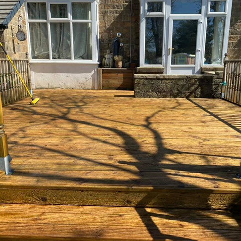 Decking Cleaning in the UK