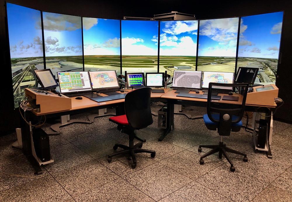 CDG Installs Second Custom Tower Simulator