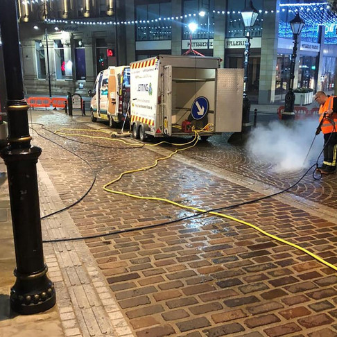 Five Year Plan To Clear Gum From City Centre Streets - AB Jetting Press Release