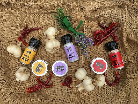 Naturally Grown Hard-Neck Garlic, Garlic Salts, Music Garlic, Music Seed Garlic - Stroudsburg, PA