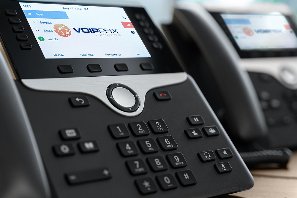 Cisco IP PBX Phone System with Color