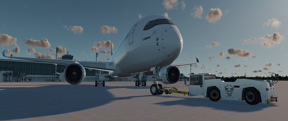 UFA, Inc. Delivers ATVehicle Airside Driving and Pushback Simulator to EFM