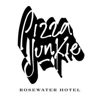 Pizza Junkie Logo B&W.png