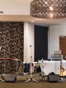 Fedora's Band Set Up