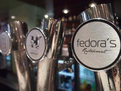 Fedora's Beer Taps