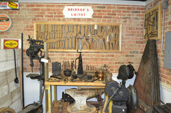 Blacksmith Display at the Jefcoat