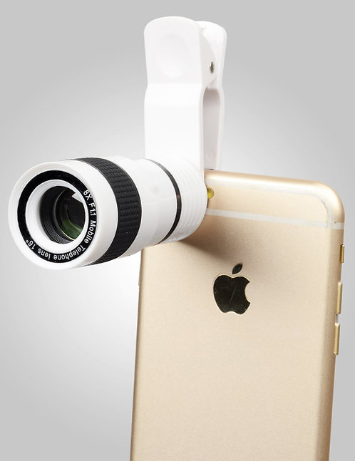 8x Single Cell Phone Lens (Rose Gold)