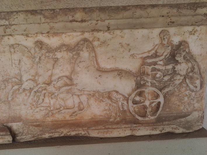 Athenian Quadriga chariot Kerameikos
