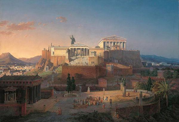 Ancient Athens Acropolis