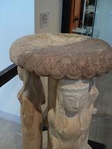 Ancient perirrhanterion stand