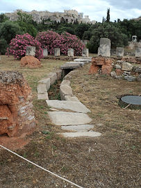Great Drain Ancient Athens Agora