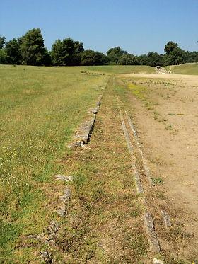 Ancient Olympia Olympics Race Track