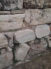 Ancient Athenian Agora wall