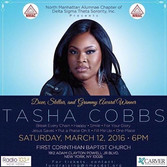 #NMACDST presents Tasha Cobbs is happeni