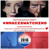 Tweet with us(_nmadstnyc) during tonight