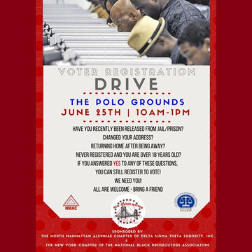 Join #NMACDST on June 25 for a Voter Reg
