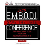 19 Join NMACDST for the E.M.B.O.D.I . Co