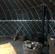 The Yurt stove