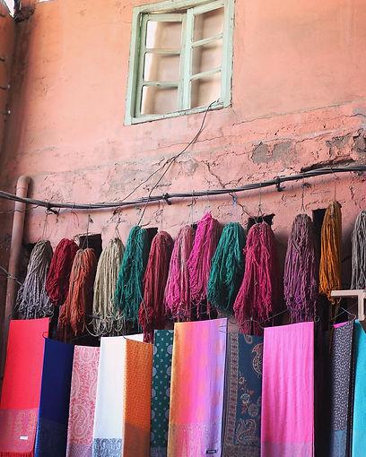 natural dyes , melba aros
