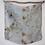 Thumbnail: Botanically Dyed  Small Silk Scarf | Aquamarine