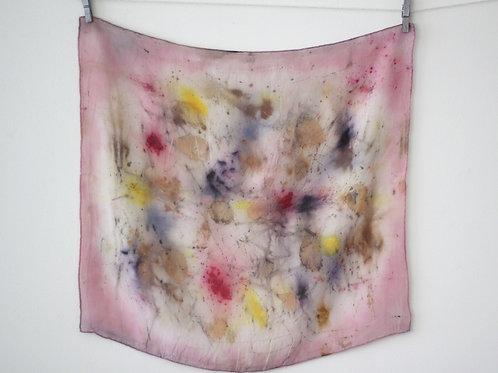 Small Silk Scarf | Light Pink