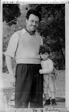 Matias and son Victor Leonado