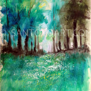 35x19_Verdant_Meadow_Summers_Path_Paper_