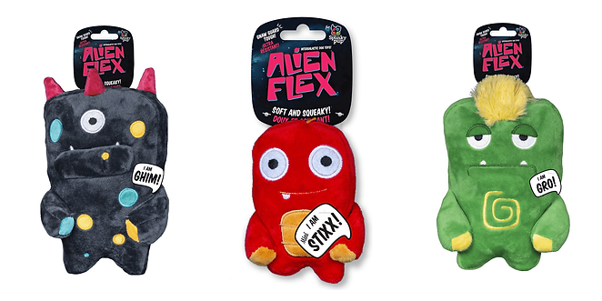 Alien Flex Toys at The Top Dog Store