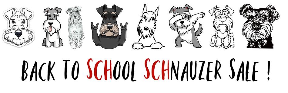 top dog store schnauzer sale banner