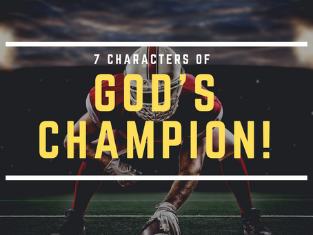 7 Characters of God's Champion