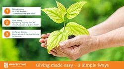 Three Ways to Give