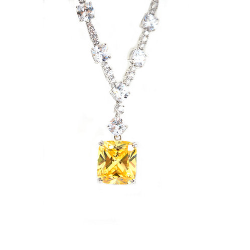 Canary Yellow Necklace