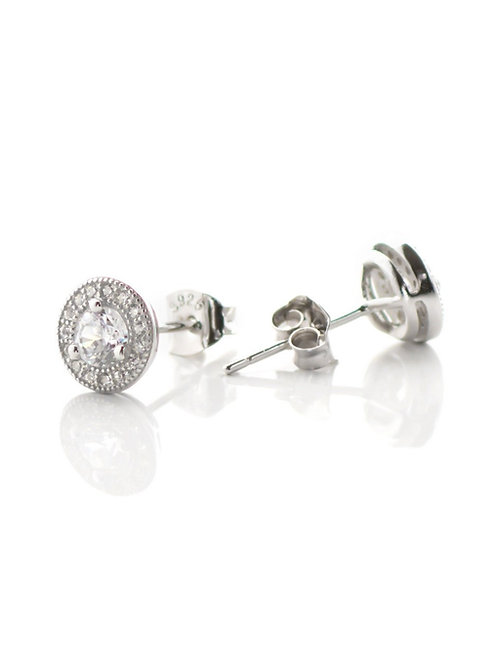 Small Pave Studs