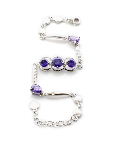 Alexandrite Bracelet Crystal Chain