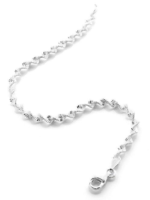 Italian Silver Twist Bracelet