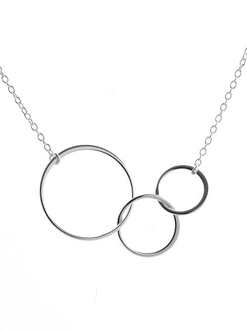 Graduated Silver Circles