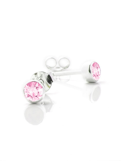 October Birthstone Studs