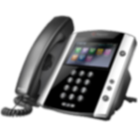 VVX 601 Polycom Hosted Voice IP Phone
