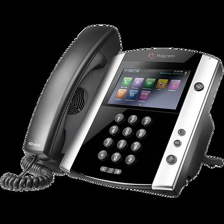 VVX 601 Polycom Hosted Voice IP Phone