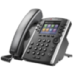 VVX 401 Polycom Hosted Voice IP Phone