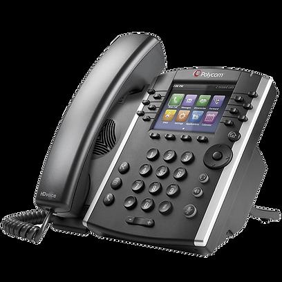 VVX 401 Polycom Hosted Voice IP Phone