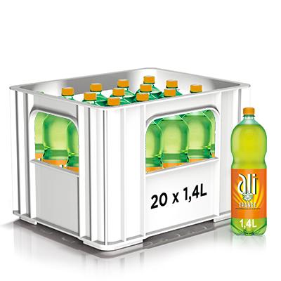 Limonade Ali Orange 1.4l. PET