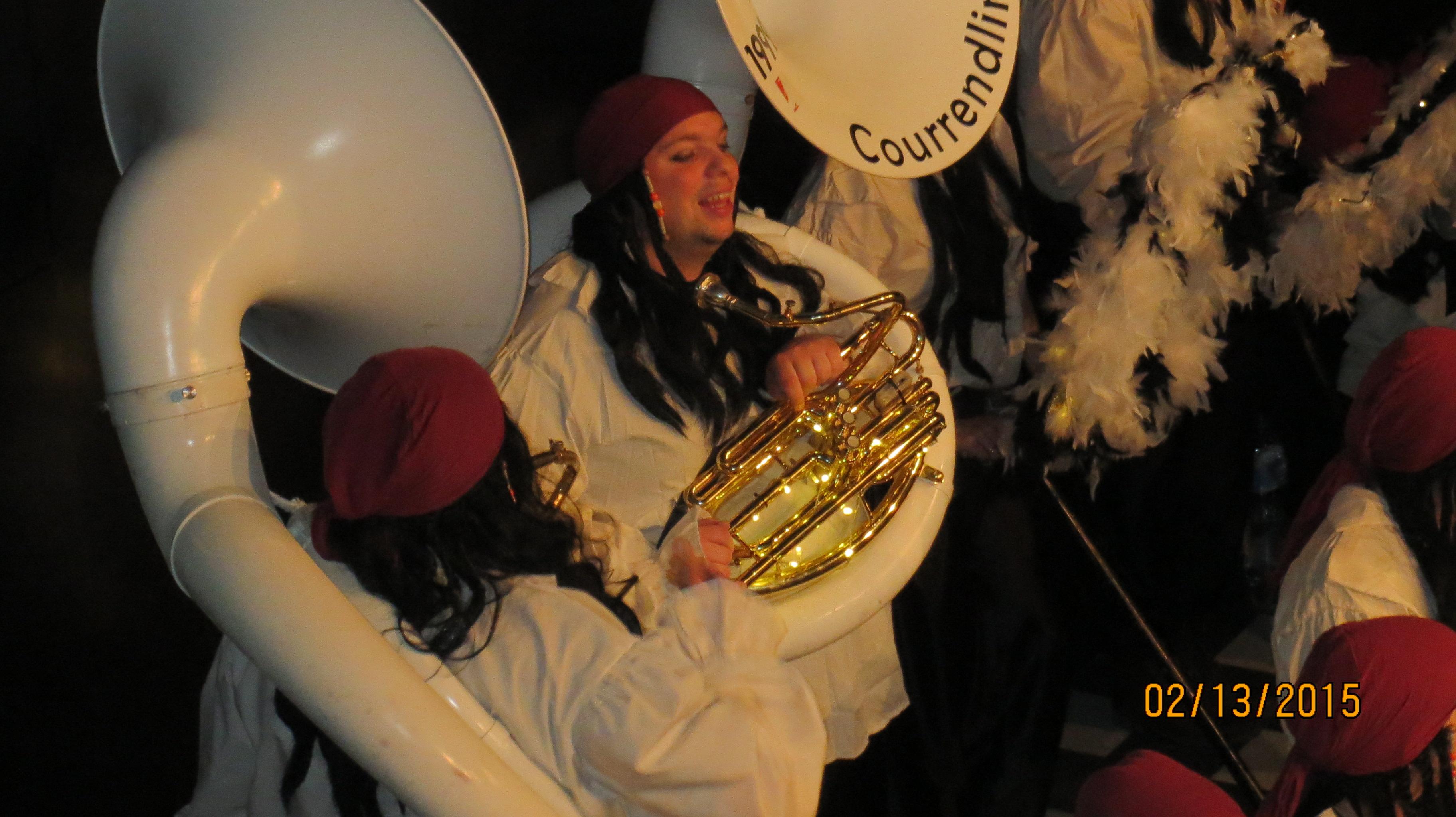 Stage Club Delémont Gala des cliques Carnaval 2015