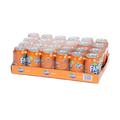 Fanta Orange 24 x 0.33l. Canettes