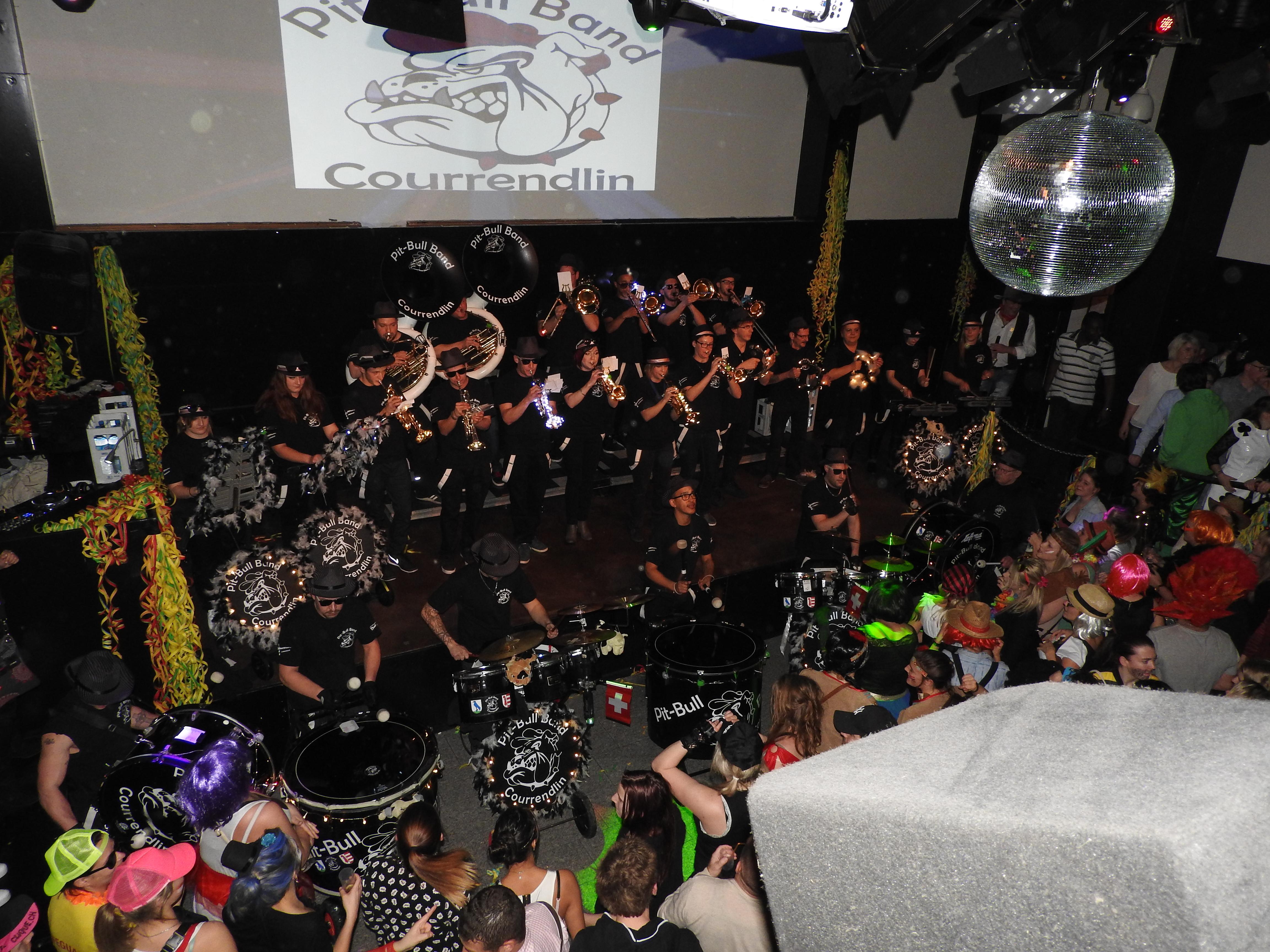 Stage Club 2016 Gala des cliques Delémont Carnaval 2016
