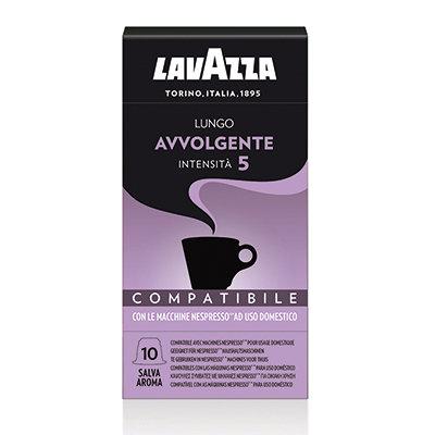 "Café LAVAZZA Lungo Avvolgente ""10 Capsules"""