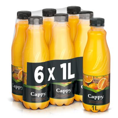 """Cappy Orange"""" Jus d'orange"""" 6 x 1l. PET"""