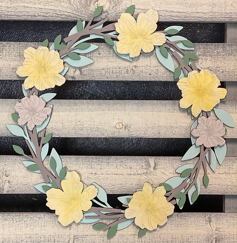 Wood Wreath DIY Kit