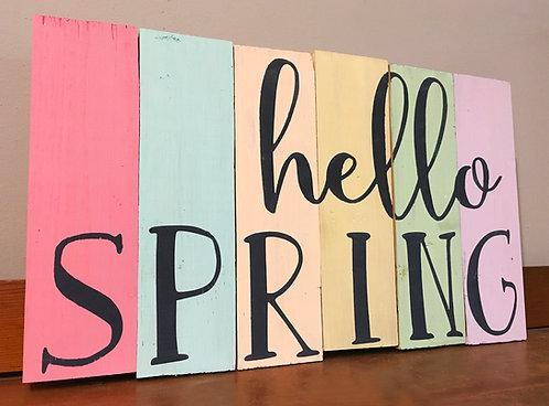 Hello Spring/Summer!